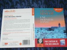 """LIVRE AUDIOLIB 2CD """"UNE DERNIERE DANSE """" VICTORIA HISLOP DUREE 14H50"""
