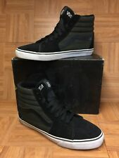 RARE🔥 VANS Rebel8 Mike Giant Sk8-Hi Black White Skateboarding Shoes Sz 13 Men's