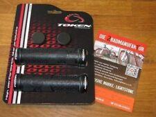 Puños y cintas negro de aluminio para manillar de bicicletas