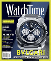WatchTime Magazine April 2021 BVLGARI Watch Time