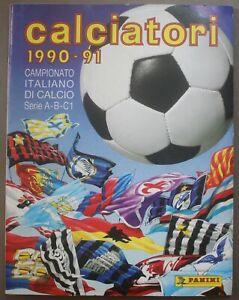 PANINI Calciatori 1990-1991 Sticker Album Figurine 100% COMPLETE COMPLETO