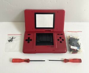 Replacement Housing for Original Nintendo DS Shell Screen Tools Red Black