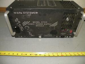 BiRa Systems Moedl 6700 CAMAC Power Supply Module PARTS / REPAIR
