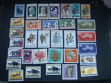 Rwanda 32 different stamps Many sets All MH  see scans