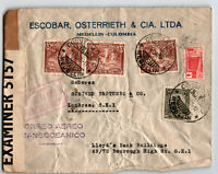 Colombia 1942 Censor Cover to London / Light Creasing - Z13647