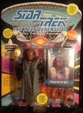 Star Trek The Next Generation Klingon Warrior Worf Action Figure MINT