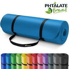 Yogamatte Fitnessmatte Gymnastikmatte Pilates Sportmatte Bodenmatte PHTHALATFREI