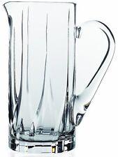 RCR Fluente Crystal Glass Jug Carafe 1.2 Litres Crystal Glass Water Jug Pitcher