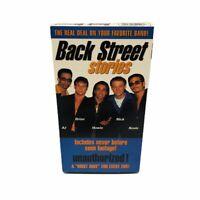 Backstreet Boys - Backstreet Stories (VHS, 1998)