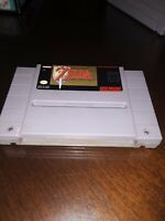 The Legend of Zelda:  A Link to the Past (Super Nintendo, SNES)