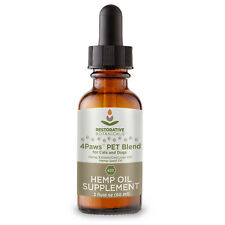 4Paws PET Blend Hemp Extract and Cod Liver Oils Supplement For Pets 420 mg 2 oz