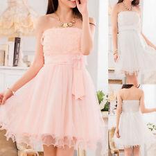 Mini Floral Sleeveless Chiffon Dresses for Women