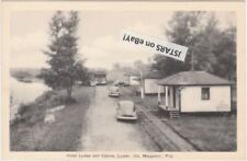 c. 1948 LYSTER, QC, HOTEL LYSTER AND CABINS POSTCARD