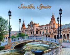 Spain SEVILLE Plaza de Espana  Souvenir Fridge Magnet