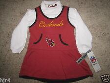 Arizona Cardinals NFL Cheerleader Cheer Dress Uniform Toddler baby 24M New