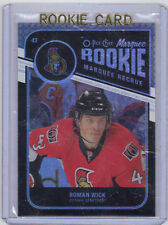 11-12 OPC O-Pee-Chee Rainbow Black Roman Wick Rookie Card RC #565 024/100 Mint