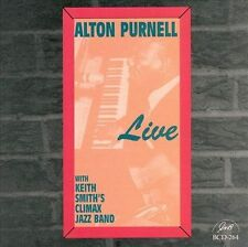 Alton Purnell-Live With Keith Smith Climax Jazz Band CD NEW