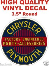 Vintage Style Chrysler Plymouth Factory Engineered Parts Accessories - The Best!