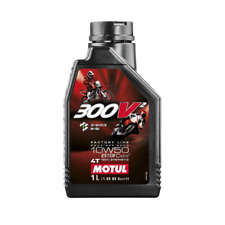 1 LT Litro Olio Motore Motul 300V2 10W50 4T 100% Sintetico EsterCore Moto Racing