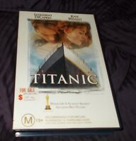 TITANIC VHS PAL  BIG BOX EX RENTAL