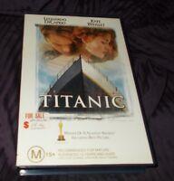 TITANIC VHS PAL  BIG BOX EX RENTAL