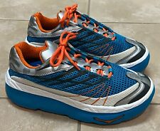 Hoka One One Mafate Edition Running Shoes Blue Women's 8.5 Men's 7.5 Worn Once