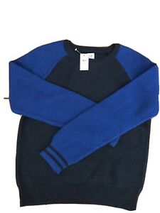 Gap Kids Navy Color Block sweater Brand New Size XXL