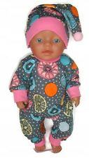 dolls clothes 43cm baby doll or similar(check the measurements) gift outfit set