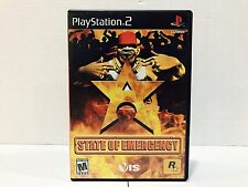 State of Emergency Game For Playstation 2 - PS2
