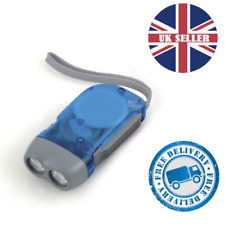 Twin Pack Uni-Com 64527 Quick Release Keyring Torch Various Colours