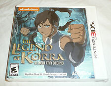 NEW SEALED Legend of Korra A New Era Begins Nintendo 3DS Game Avatar Nickelodeon