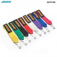 ADDCO UNIVERSAL RACING DRIFTING TOWING ROPES TOW STRAP 8 MULTI  COLOURS CHOICE