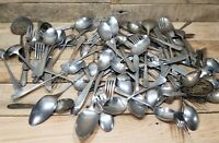6 Lbs Of Craft Quality Silverware Spoons Forks Knifes Ect