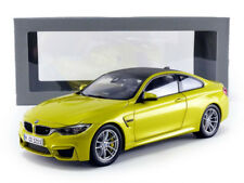 Paragon Models 2014 BMW M4 F82 Coupe yellow metallic/carbon Dealer Edition 1/18