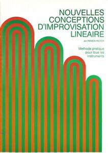 Théorie musicale - Ramon Ricker - Nouvelles conceptions d'improvisation linéaire