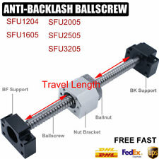 Rolled Ballscrew&Ballnut&Nut Support Machining Kit,SFU1204/1605/2005/2505/3205