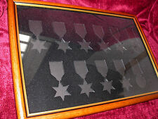 Frame to hold 9 WW2 Stars and Defence & War Medals-design now with Arctic Star