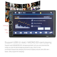 7Inch 1080P DOUBLE 2DIN Car MP5 Player BT Tou+ch Screen Stereo Radio HD US STOCK