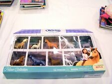 Spirit Riding Free DreamWorks horse collection of 10 horses, Mint in Box
