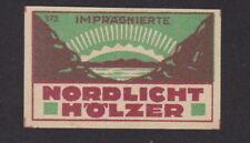 Ancienne  étiquette  allumettes  Allemagne BN101526
