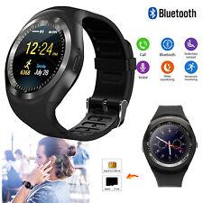 Sports Bluetooth Smart Watch Phone Mate For Android Samsung Women Men Boys Girls