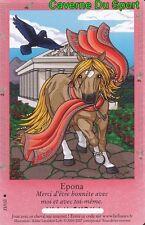21/110 EPONA CARTE CARD BELLA SARA COLLECTION MYTHOLOGIE 2005 - 2007 - D
