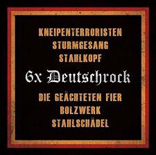 6 X DEUTSCHROCK  Kneipenterroristen,Bolzwerk ++ CD NEU