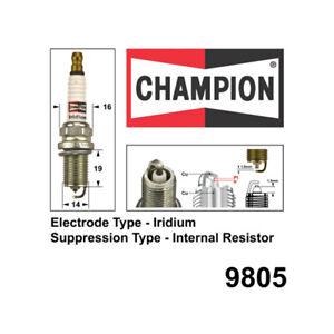 9805 Iridium Spark Plug for MERCEDES-BENZ A160 W168 A200 W169 B200 W245 C180 CL2