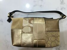 Brand New!! COACH  LEGACY Patchwork Demi/Baguette Bag Size Small