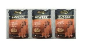 6 packs x HiLife Banquet Dog Food Flaked Chicken Breast with Rice and Veg, 100 g