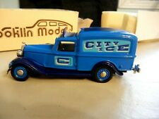 BROOKLIN MODEL 1/43 scale  1935 DODGE VAN  BRK 16A   ICE TRUCK  WITH BOX - MINT