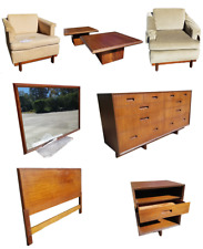 Rare Frank Lloyd Wright Furniture Henredon Taliesin Collection Lot Of 8 Pieces