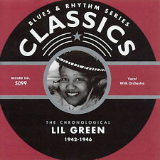 LIL GREEN 1942-46 CLASSICS CD NEW SEALED LONG OUT OF PRINT
