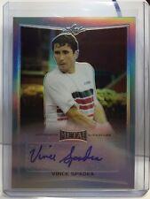 Vince Spadea 2016 Leaf Metal Tennis SILVER Refractor Autograph Auto